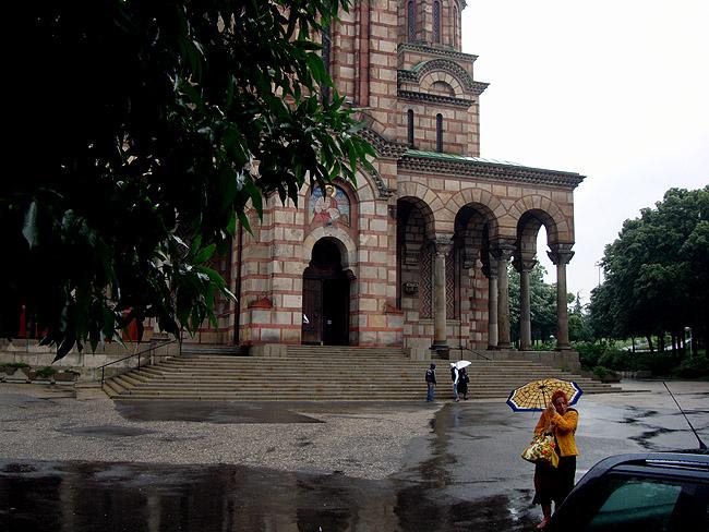 Храм Святого Марка. Вход в храм