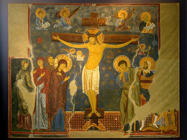 Музей фресок. Копия фрески монастыря
