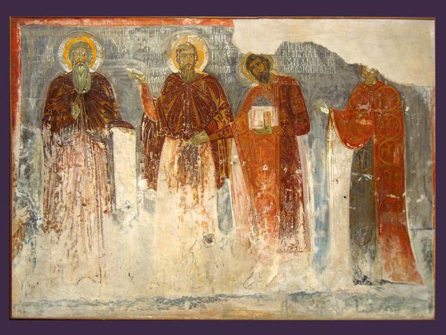 Музей фресок. Фреска