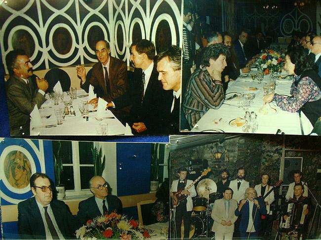 Ресторан Ima Dana. Фотографии из жизни ресторана как часть интерьера