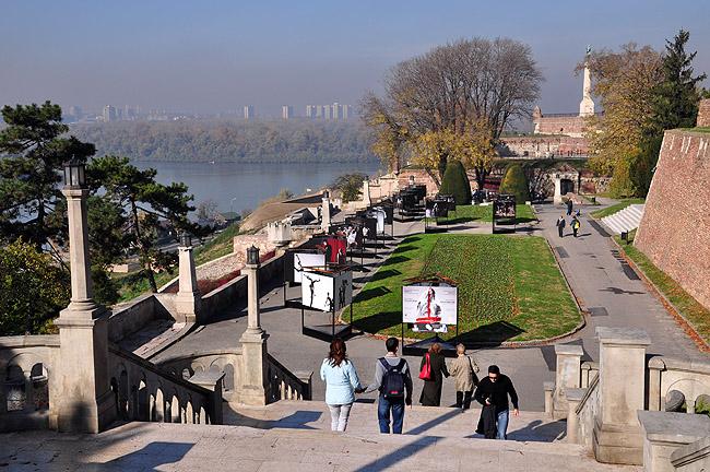 Калемегдан. Со стороны Дуная