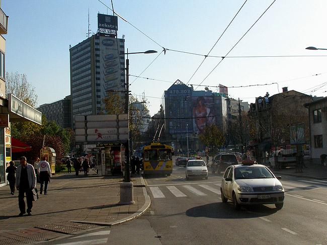"""Площадь Славия. Самое высокое здание на фото — отель """"Славия"""""""