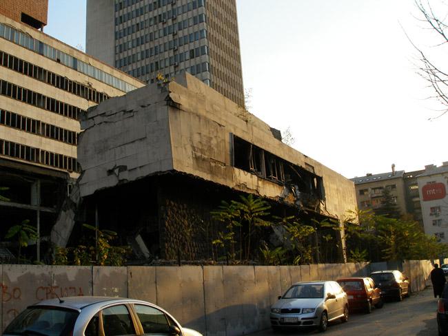 НАТОвские бомбардировки Белграда. Генштаб