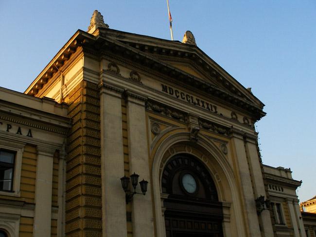 Здание белградского вокзала
