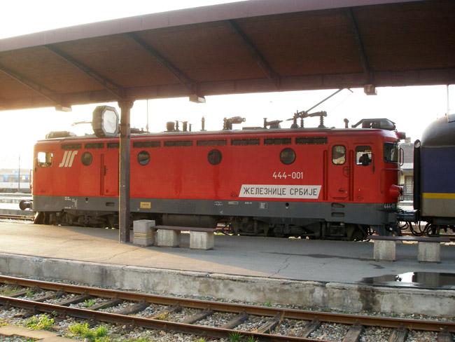 Поезд готовится к отправлению