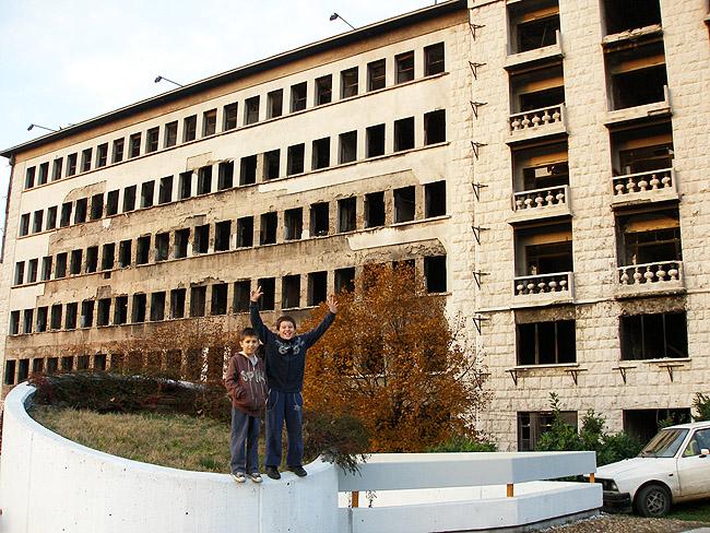 НАТОвские бомбардировки Белграда. Жизнь продолжается