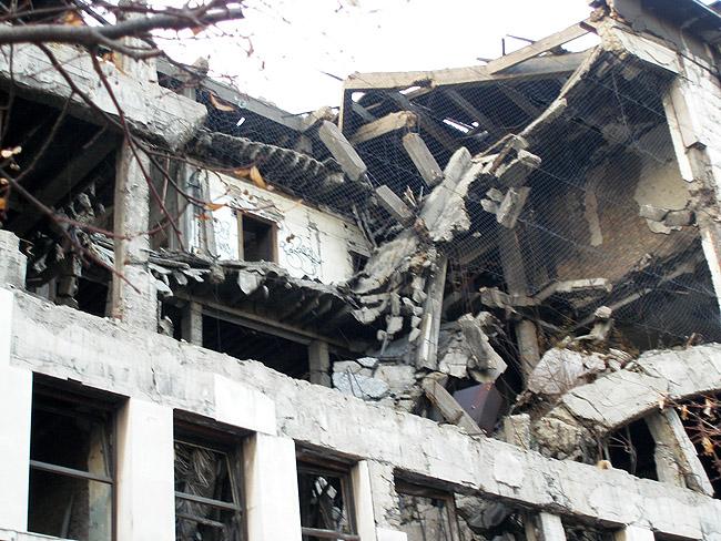 НАТОвские бомбардировки Белграда. МВД