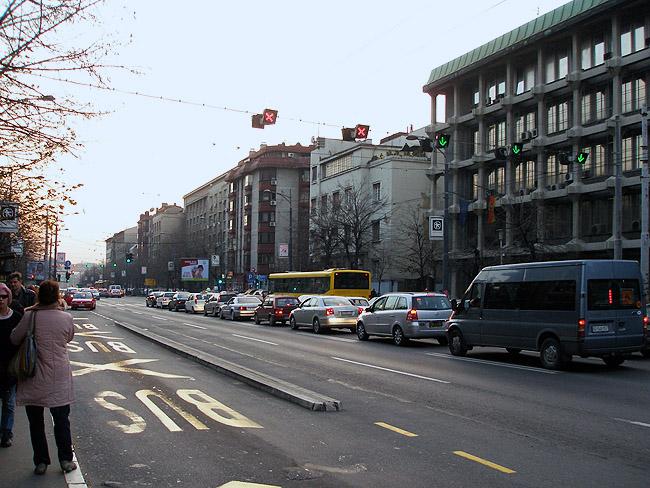 Улица Кнеза Милоша