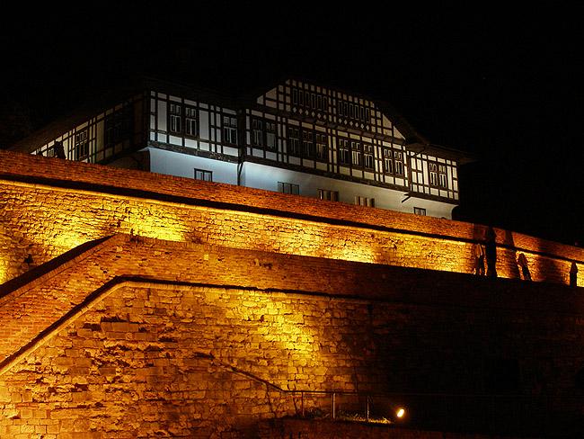 Центр защиты памятников архитектуры вечером