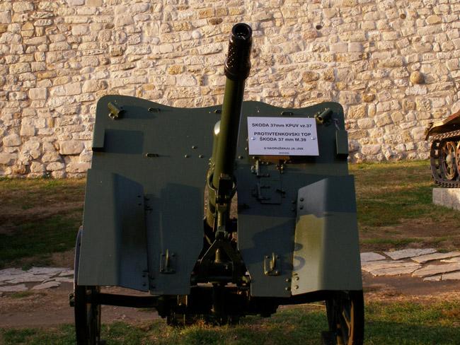 Противотанковая пушка Scoda 37mm Krup vz.37