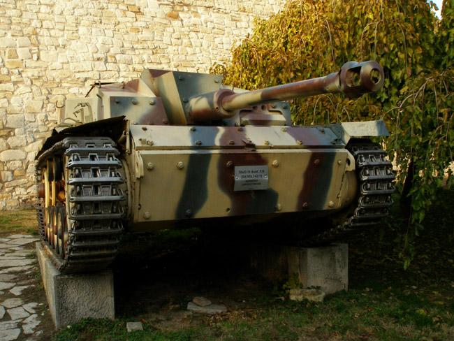 Немецкая самоходка StuG III Ausf. F/8