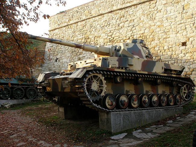 Немецкий средний танк PzKpfw IV Ausf.H