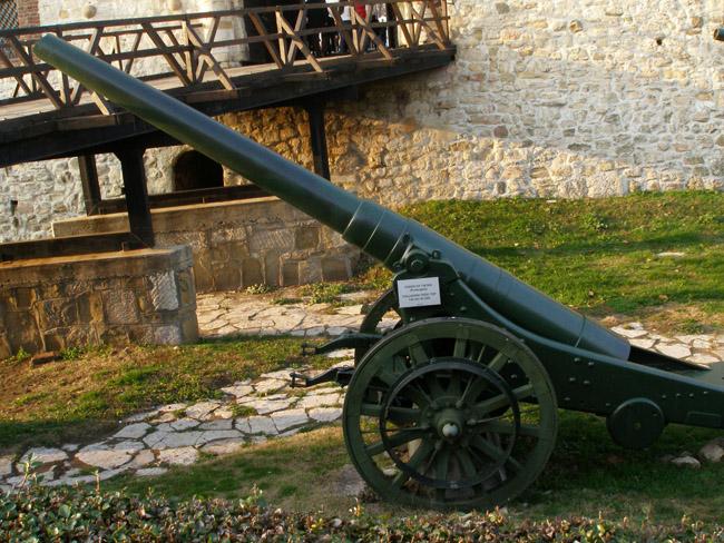 Итальянская тяжелая пушка 149мм. 1905 год