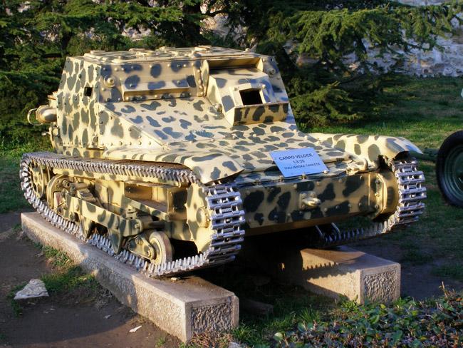 Итальянская танкетка Carro Veloce L3/35