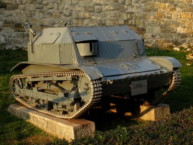 Польская танкетка TKF