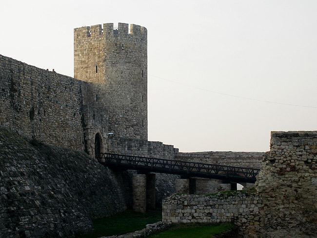 Калемегдан. Стена крепости