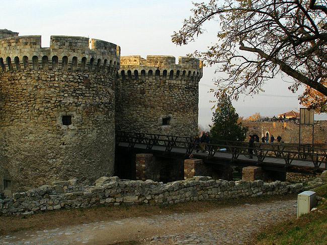 Калемегдан. Башни крепости
