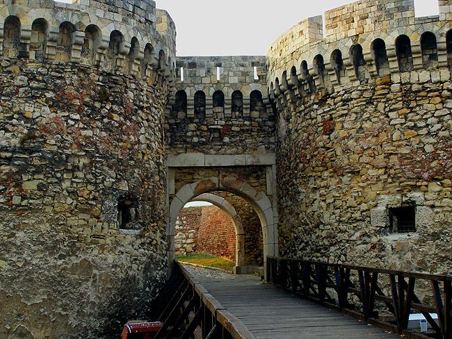 Калемегдан. Крепостная стена