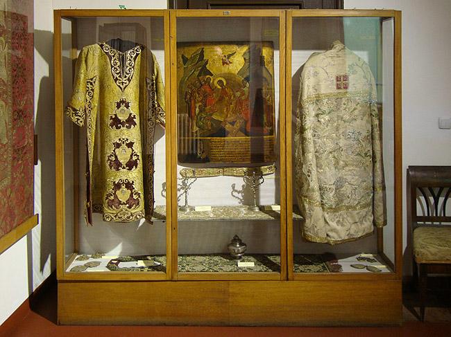 Музей Сербской Патриархии. Облачения