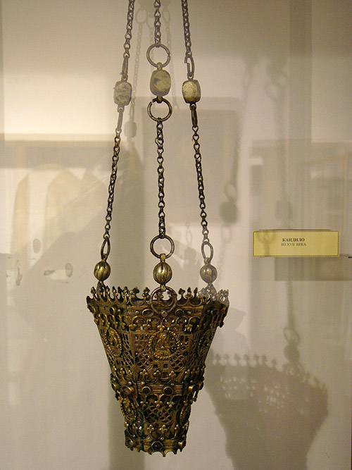 Музей Сербской Патриархии. Кадило XVII века