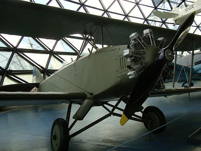Музей авиации в Белграде. Югославский самолет Fizir FN, 1929 г