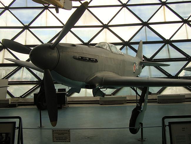 Музей авиации в Белграде. ЯК-3