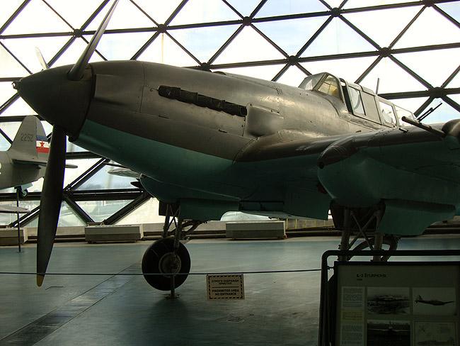 Музей авиации в Белграде. ИЛ-2