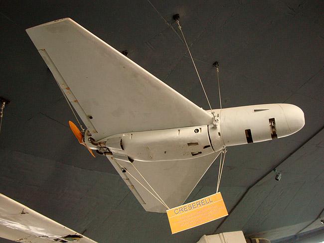 Музей авиации в Белграде. Беспилотник CRESERELL (трофей 1999 года)