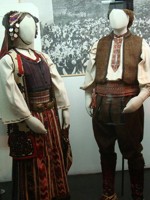 Музей этнографии в Белграде. Сербские национальные костюмы