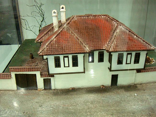 Музей этнографии в Белграде. Макет городского дома восточно-балканского типа
