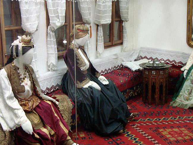 Музей этнографии в Белграде. Жилое помещение