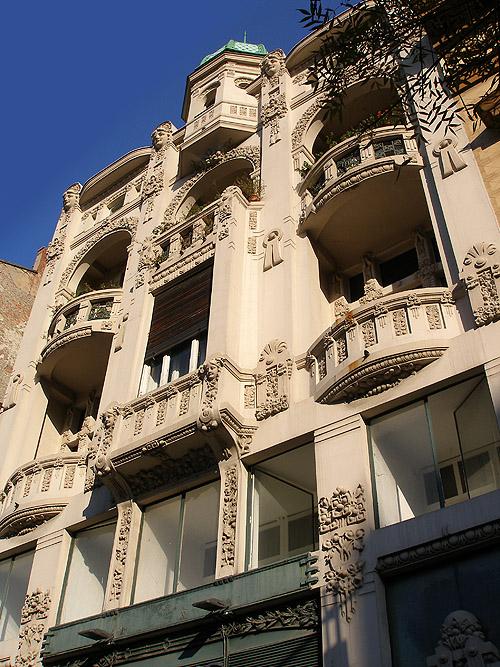 Улица Краля Милана. Архитектурное наследие Австро-Венгрии
