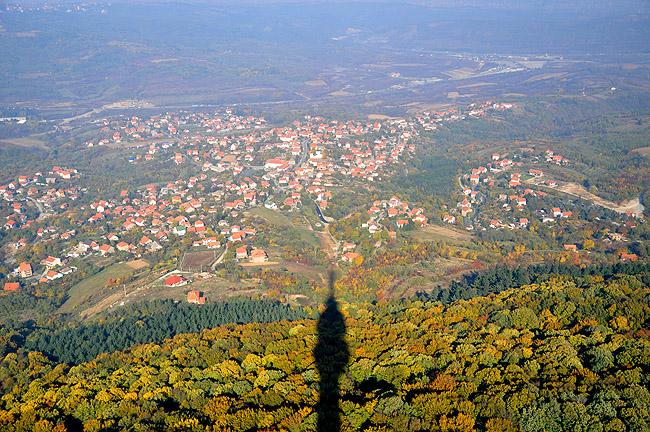 "Башня ""Авала"". Вид с башни на северо-восток"