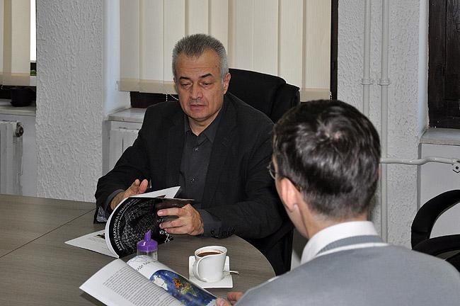 Директор Математической гимназии Белграда Срджан Огнянович