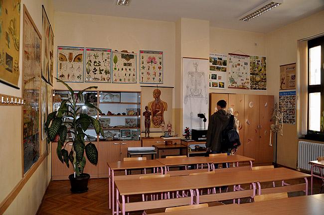 Математическая гимназия — кабинет биологии