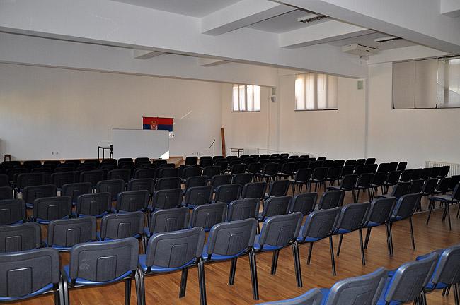 Математическая гимназия — актовый зал