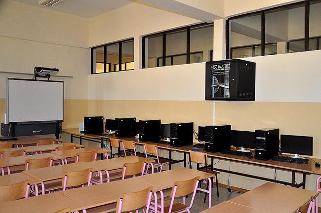 Математическая гимназия — кабинет информатики