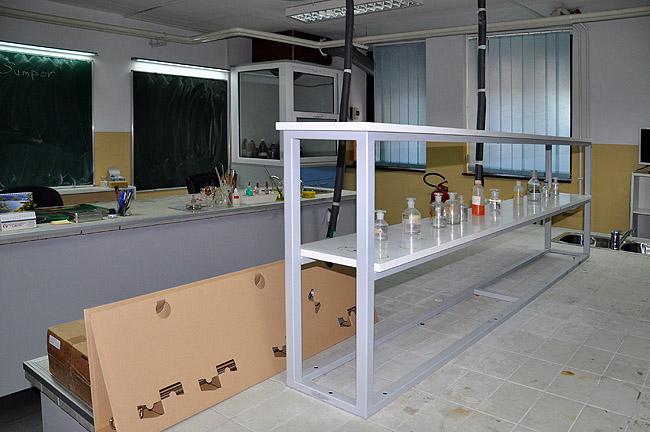 Математическая гимназия Белграда — кабинет химии