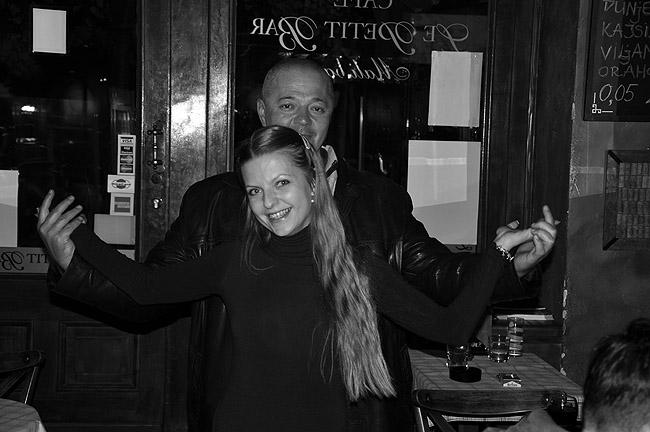 Rock'n'Roll вечер в Le Petit Bar. Посетители