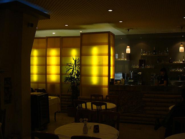 Ресторан Mala Slavia — барная стойка