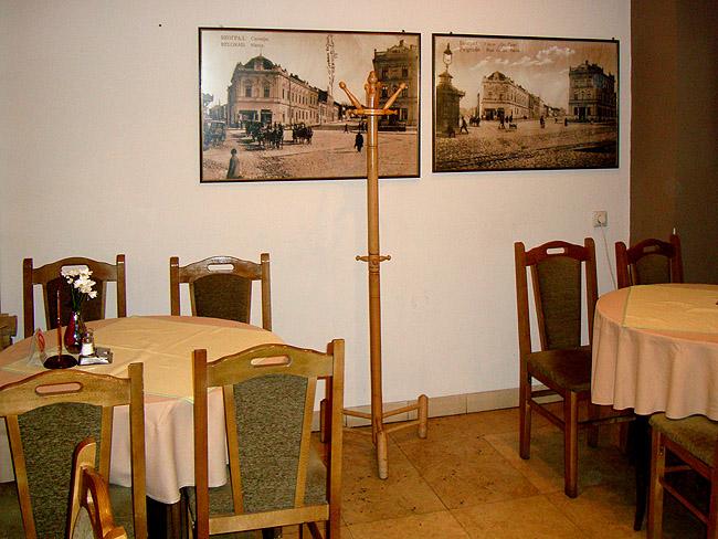 Ресторан Mala Slavia — в малом зале