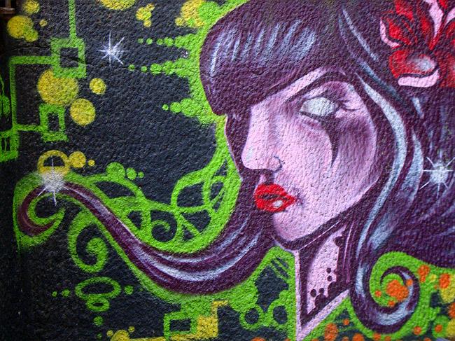 Граффити в Белграде — как-то так