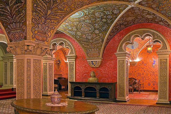 Убранство Старого Дворца в Дедине