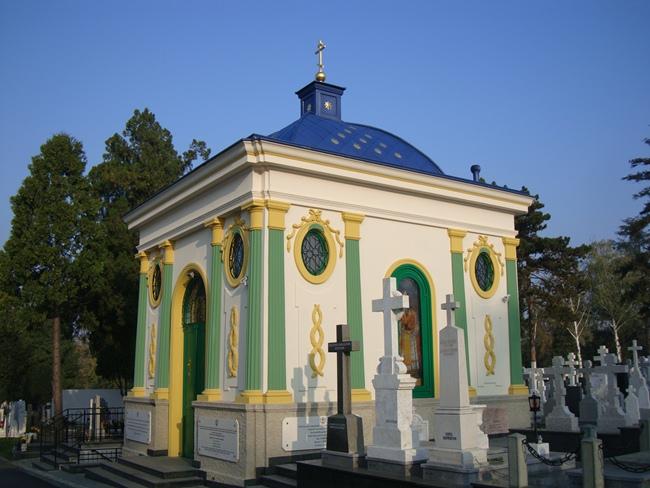 Иверская часовня на Новом Кладбище