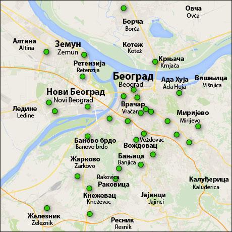 Рынки Белграда
