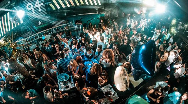 В ночном клубе Белграда